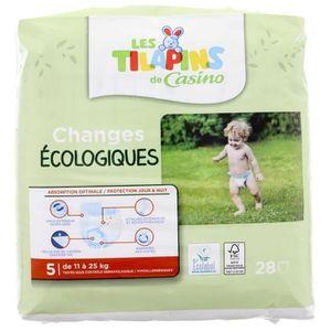 COUCHE Les Tilapins couches écologiques T5x28 couches