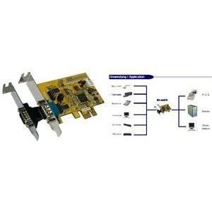 CARTE GRAPHIQUE INTERNE EXSYS carte PCI sérielle 16C950 RS-232, 2 S, Lo…