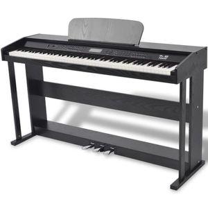 PIANO Piano numérique avec pédales 88 touches Noir Panne