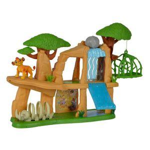 FIGURINE - PERSONNAGE LA GARDE DU ROI LION Simba Playset Terre Sacré