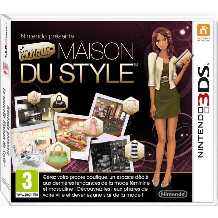 JEU 3DS La Nouvelle Maison Du Style Jeu 3DS