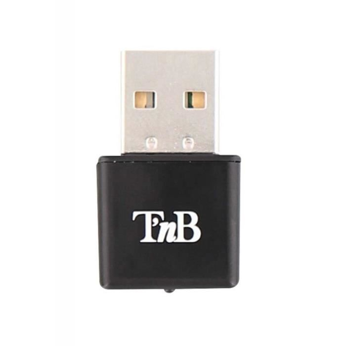 T'nB - Micro adaptateur WIFIi 300Mbps - Noir - ADWF300N