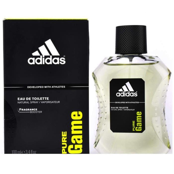 Achat Edt Vente 100ml De Toilette Adidas Pure Eau Game Homme UzGMVpqS