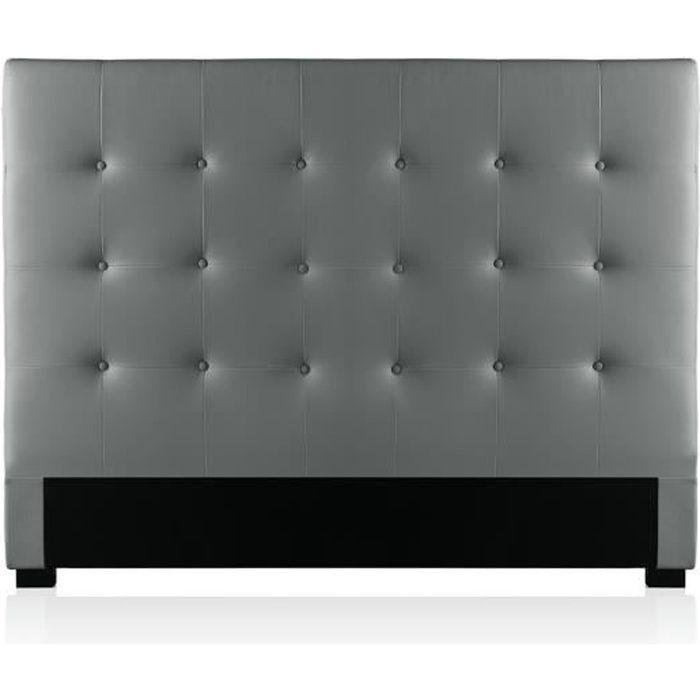 tete de lit capitonne 140 cm achat vente pas cher. Black Bedroom Furniture Sets. Home Design Ideas