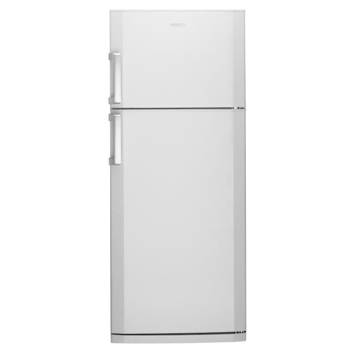 beko ds141120 - réfrigérateur congélateur haut - 389l (292+97