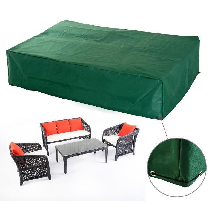 Housse de protection etanche pour meuble salon de jardin ...