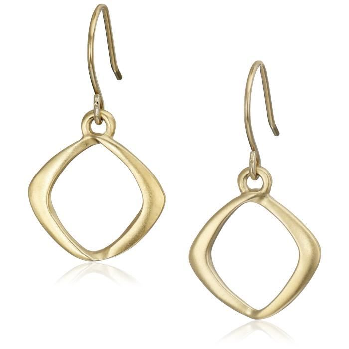 Kenneth Cole New York Gold-tone Drop Earrings GKL22