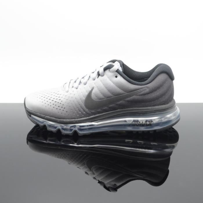 nike air max 2017 noir gris femme junior at6168-001