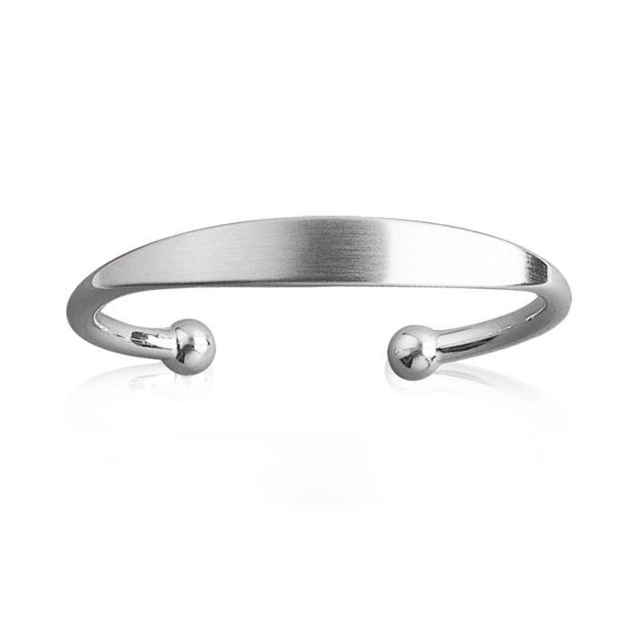 Bracelet argent femme en solde