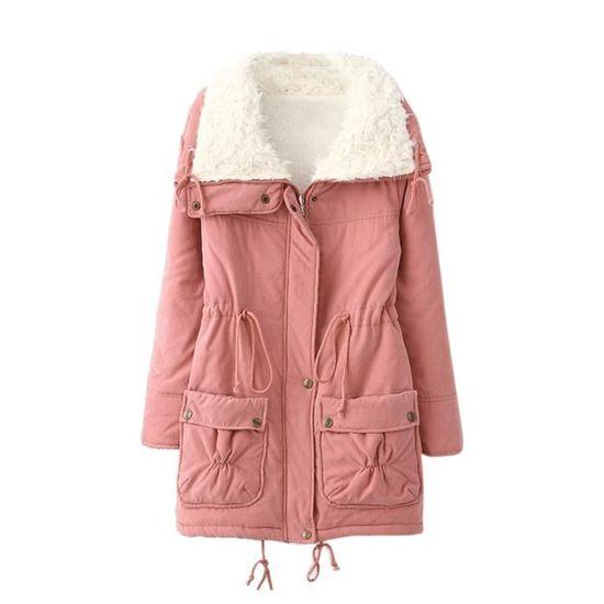 Fourrure zf4362 Outwear Manteau Col Chaud Veste Rabattu Manteaux De Jeffrey®femmes D'hiver Parka Slim TR7tAnqww