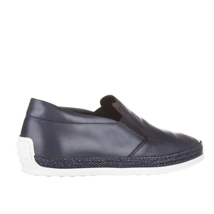 Mocassins homme en cuirmacro clamp gomma vg Tod's