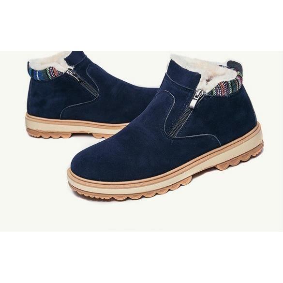 Chaussures Bottes Bottes Shoes hommes Au neige de confortable pour les et chaud Hommes chaud simple d'hiver Souliers Cachemire keep 7SqU7Cxw