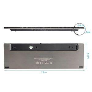 clavier souris sans fil retroeclaire prix pas cher cdiscount. Black Bedroom Furniture Sets. Home Design Ideas