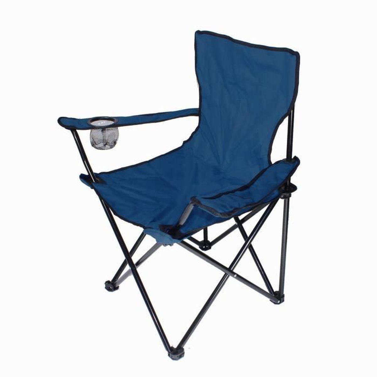 Bleu Marine Chaise Pliable Pour Camping Pche Jardin Reposer Housse Sige LL PS Assis Ais