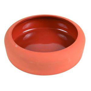 TRIXIE Ecuelle céramique avec bord arrondi 500 ml/? 17 cm pour rongeurs