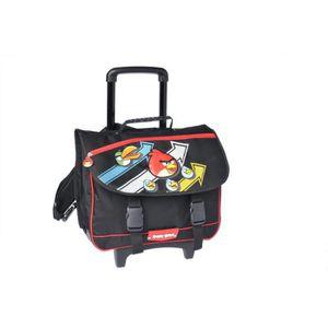 CARTABLE Angry Birds - Cartable Scolaire à roulettes  41 cm