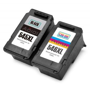 CARTOUCHE IMPRIMANTE Compatible Cartouches Canon PG-545XL CL-546XL Noir