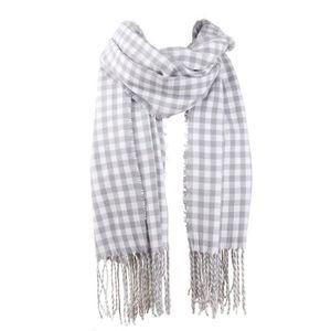79f4ffecfb20 ECHARPE - FOULARD écharpe à carreaux pour femme grande longue couver