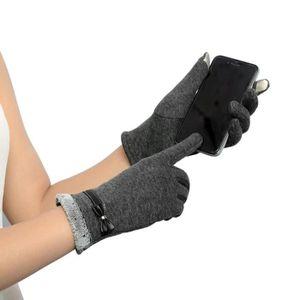 GANT - MITAINE Femmes écran tactile hiver gants poignet chaud mit