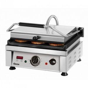 GRILL ÉLECTRIQUE Machine à panini pro - 360 x 270 mm - Bartscher