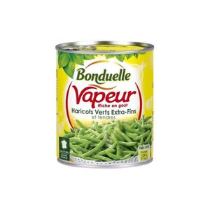 CONSERVE AUTRES LEGUMES Bonduelle Haricots Verts Extra Fins Vapeur 590g L