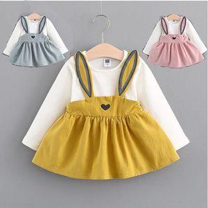 52f6c961848 1 PC Robe bébé Filles 0-3 ans Aut rose 18 m rose 18 m omne Fashion Style  Enfants Vêtements en coton Jupe Bébés filles Princesse