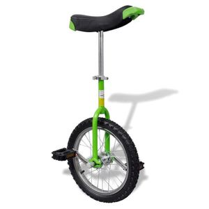 VÉLO MONOCYCLE Monocycle en Acier ergonomique Ajustement hauteur
