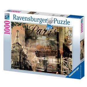 PUZZLE Puzzle 1000 pcs Paris Nostalgique