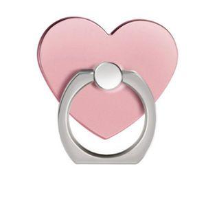 FIXATION - SUPPORT Anneau de doigt en forme de coeur rotatif sur 360º