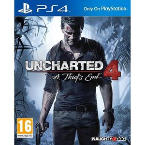 JEU PS4 Uncharted 4: A Thief's End