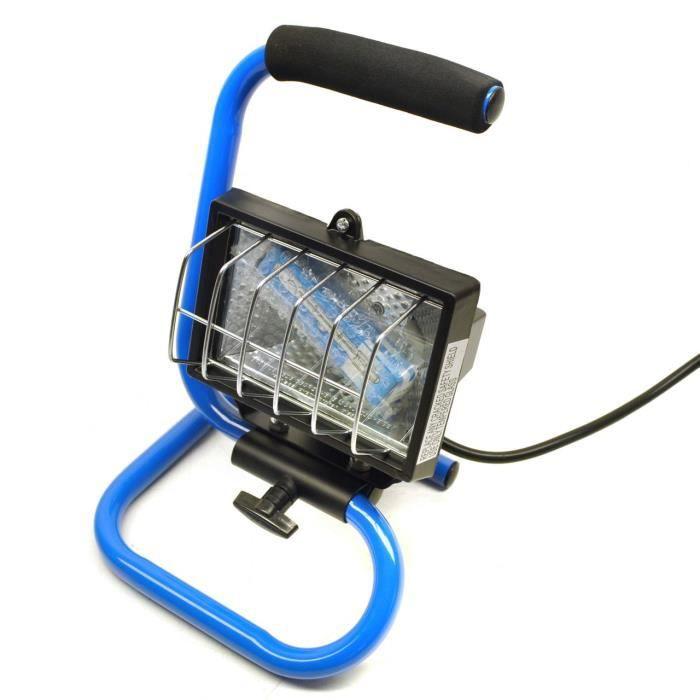 Lampe de travail halog ne 150 w projecteur garage for Projecteur garage led