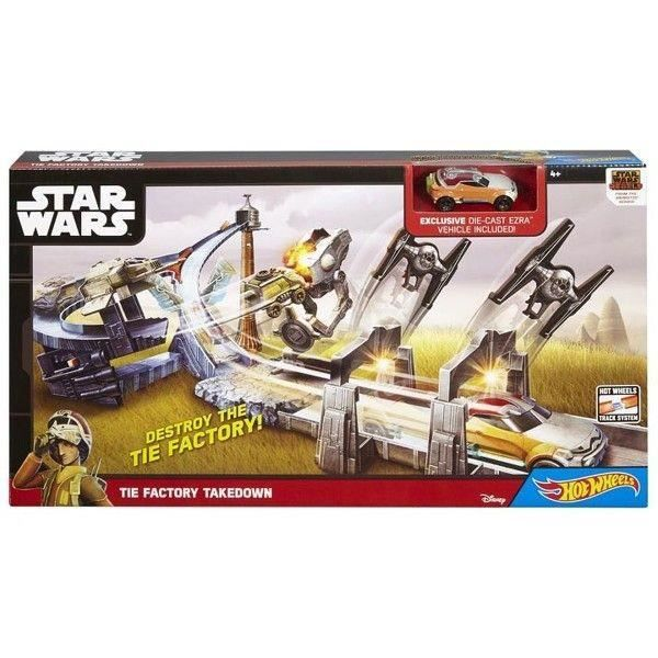 VOITURE - CAMION HOT WHEELS Star Wars SET THE FACTORY