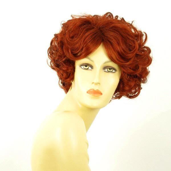 Perruque femme rousse bouclée LADY 350 -