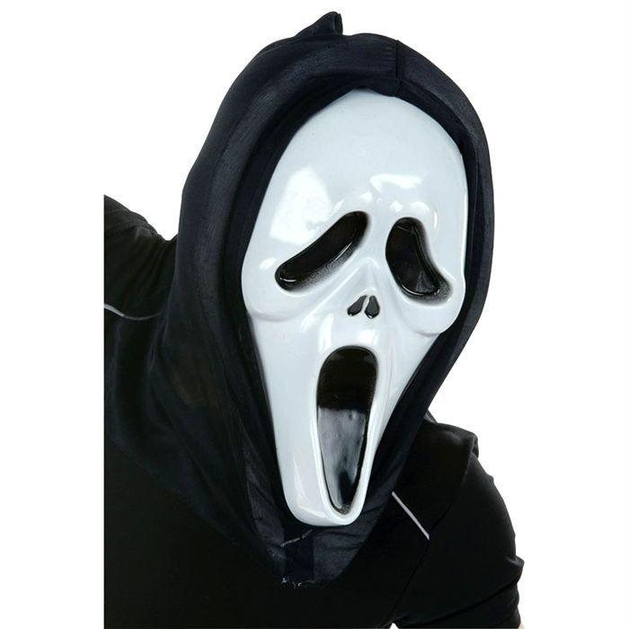 Masque fant me adulte achat vente masque d cor visage cdiscount - Comment dessiner un fantome pour halloween ...