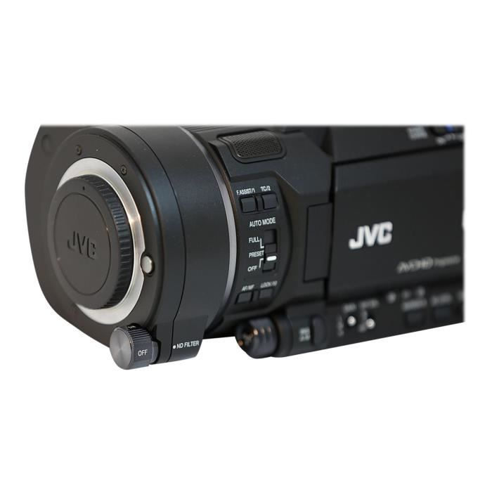 CAMÉSCOPE NUMÉRIQUE JVC 4KCAM GY-LS300CHE Caméscope Quatre tiers 4K -