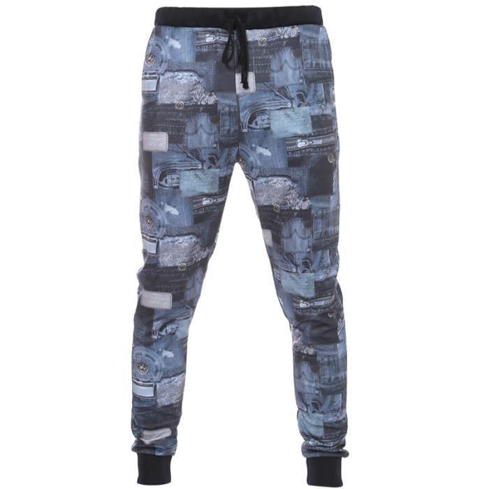 Pantalon de survetement de marque homme - Achat   Vente pas cher 10bb8631d038