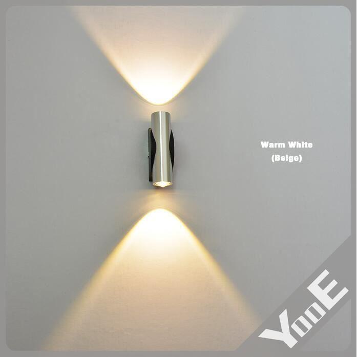 2 w 2 led lampe applique murale int rieur avec achat. Black Bedroom Furniture Sets. Home Design Ideas