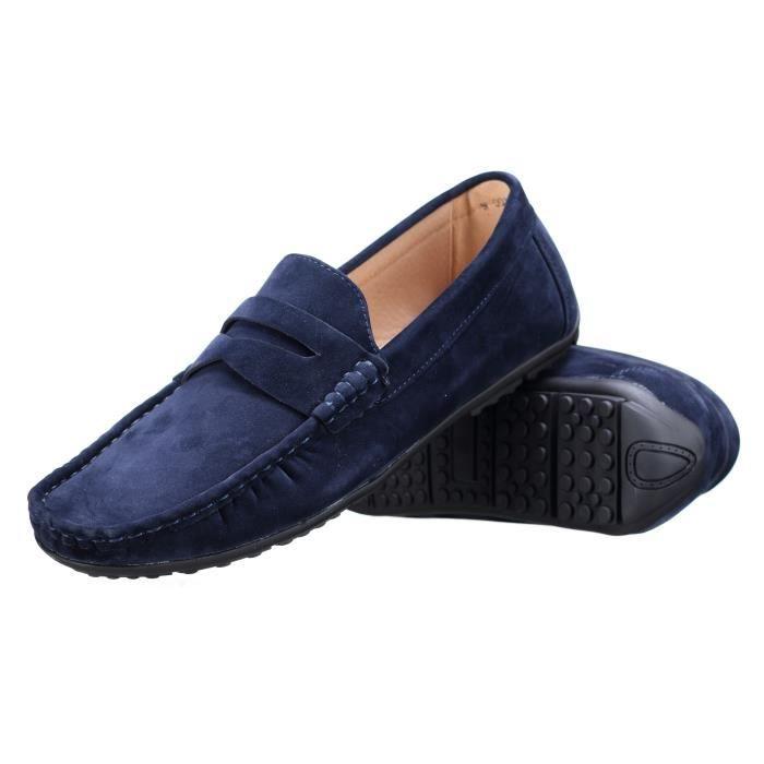 Chaussure Derbie Goor W001 Mocassin Marine pkRlM8EP