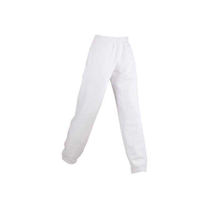 pantalon jogging blanc homme achat vente pantalon jogging blanc homme pas cher cdiscount. Black Bedroom Furniture Sets. Home Design Ideas