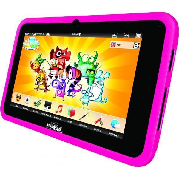 TABLETTE ENFANT VIDEOJET Tablette Enfant KidsPad 4 rose