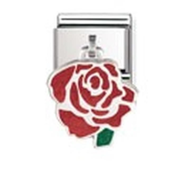 Nomination 031700-06 - Maillon Pour Bracelet Composable Femme - Acier Inoxydable MV4P4