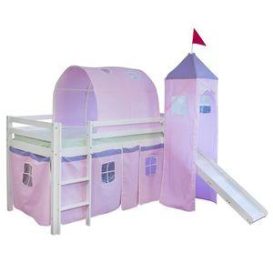 tente de lit mezzanine achat vente tente de lit. Black Bedroom Furniture Sets. Home Design Ideas