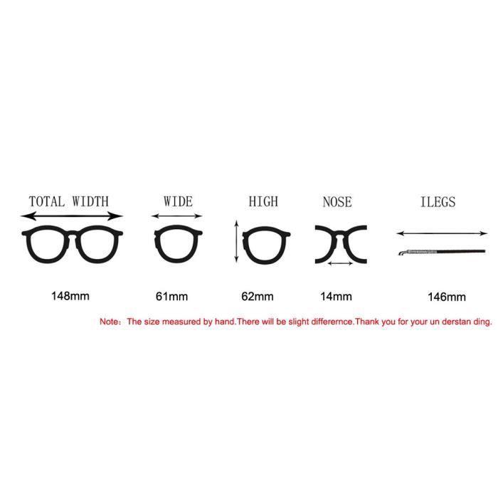 de Myopie lentilles 1234 claires lunettes Lunettes soleil Cadre Lunettes Hommes métal LJL70328131A bleu Femmes xYq4nUwgFZ