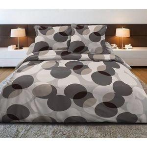 housse de couette beige achat vente housse de couette beige pas cher soldes d s le 10. Black Bedroom Furniture Sets. Home Design Ideas