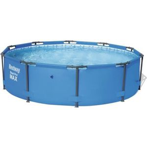 PISCINE BESTWAY Piscine tubulaire ronde en PVC Steel Pro M