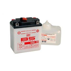 BATTERIE VÉHICULE Batterie BS BATTERY 6N6-3B  conventionnelle livrée