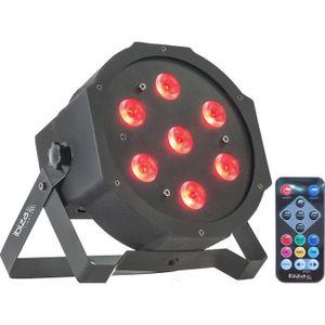 JEUX DE LUMIERE IBIZA LIGHT PARLED710 Projecteur à LED 7 x 10W RGB