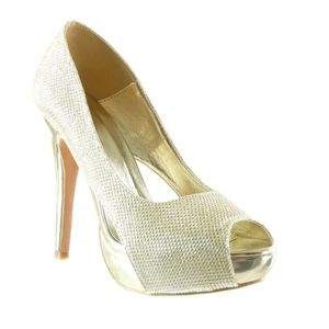 élégant classique femmes chaussures l'escarpin chaussures de soirée noir 38 zFU9aclLO