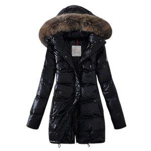 Manteau doudoune plume d'oie femme