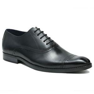 RICHELIEU ULTIMO Chaussures richelieu en cuir - Homme - Noir